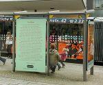 Hier ein Foto der letzten Lesezeichen-Ausstellung 2011. Bild:  Forum-Literatur Büro e.V., www.hildesheimer-lesezeichen.de