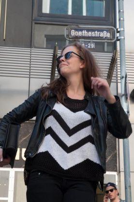 Deliah beim spontanen Abdancen. Foto: www.kehl-fotografie.de