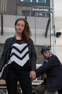 So mancher reagiert verwundert auf unser Fotoshooting, hier in der Goethestraße. Foto: www.kehl-fotografie.de