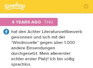 Timehop 22.07.2010