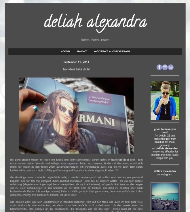Deliah Alexandra Screenshot