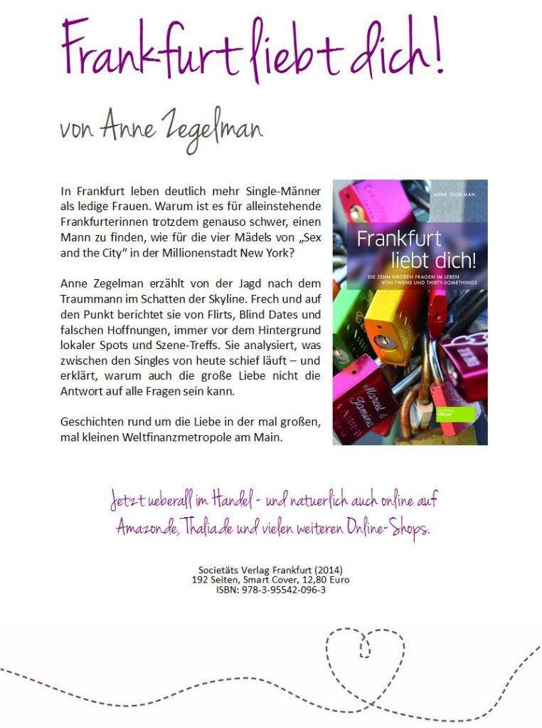 Frankfurt liebt dich - Flyer
