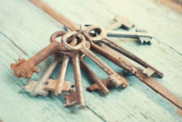 Vintage Keys groß