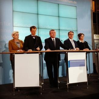In Berlin, in Saarbrücken, in Mainz: Bundesgesundheitsminister Hermann Gröhe (CDU) gehört zu denen, die ich fast am häufigsten auf Presseterminen treffe.