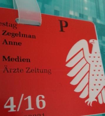 Für den ich übrigens einen Hausausweis hatte. Sehr cool. :)
