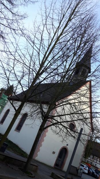 Januar 2018: Unsere erste Lesung wird in der Alten Kirche in Kelkheim stattfinden.