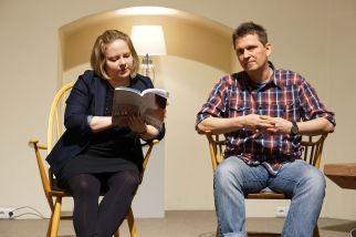 Lesung in der Alten Kirche.