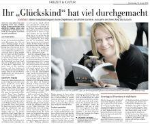 Riesiger Artikel im Höchster Kreisblatt - als Ankündigung für unsere erste Lesung.