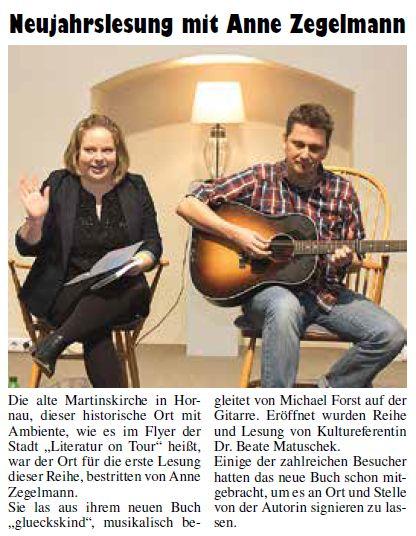 Kelkheimer Zeitung, 25. Januar 2018
