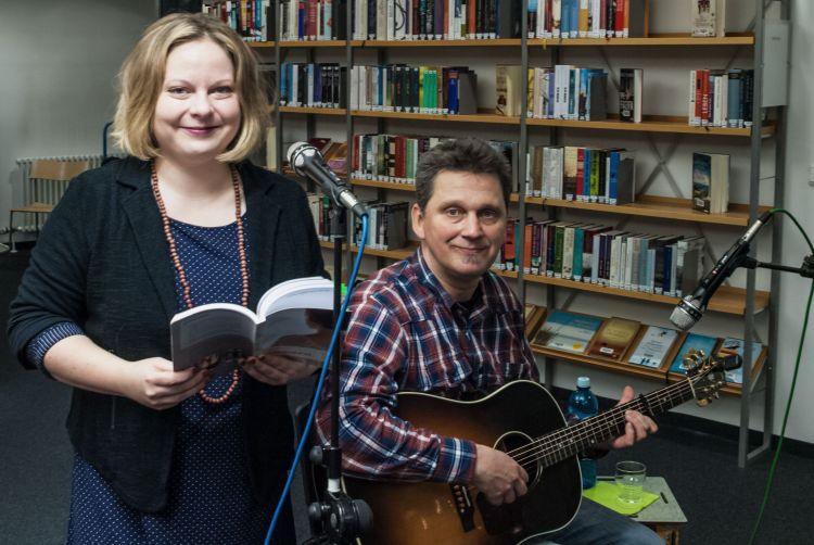 Lesung in Schwalbach - Lina (Anne und Micha)