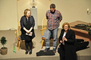 Micha, Anne und Beate