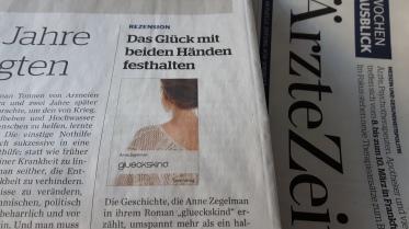 Februar 2018: Die Ärzte Zeitung stellt glueckskind vor.