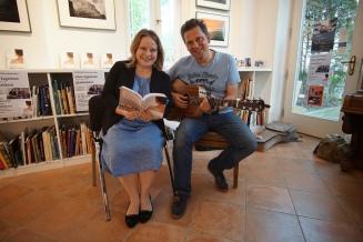 Glückliches Duo: Micha und Anne bei Primobuch.