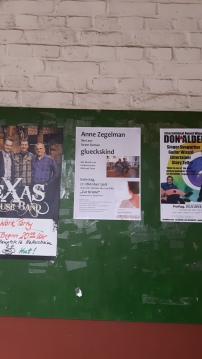 """Ankündigung unserer Lesung in der """"Krone"""" in Hattersheim."""