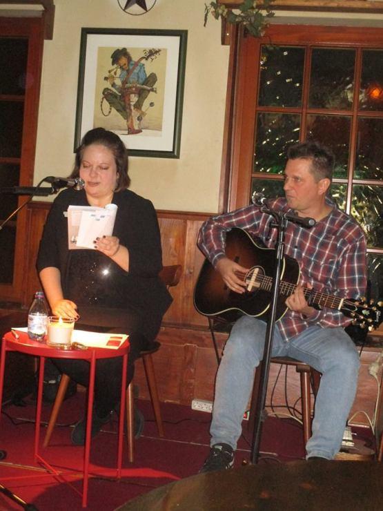 Anne und Micha auf der Bühne - Gerd Taron
